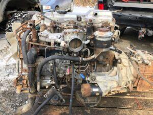 Двигатель на Toyota Dyna BU88 14B 14B