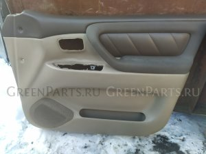 Обшивка дверей на Toyota Land cruiser 100