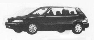 TOYOTA COROLLA FX 1990 г.