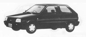 NISSAN MARCH 1990 г.
