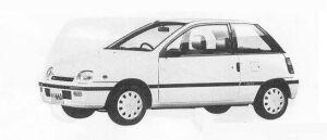 DAIHATSU LEEZA 1990 г.
