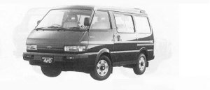 MAZDA FORD SPECTRON 1990 г.