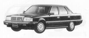 MITSUBISHI DEBONAIR 1991 г.