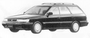SUBARU LEGACY 1991 г.