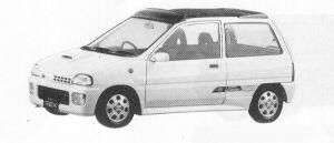 SUBARU REX 1991 г.