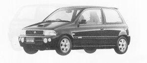 SUZUKI CERVO MODE 1991 г.