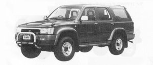 TOYOTA HILUX SURF 1991 г.