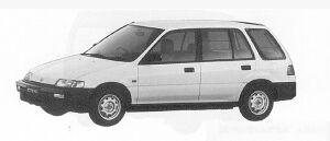 HONDA CIVIC 1991 г.