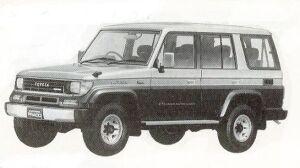 TOYOTA LAND CRUISER PRADO 1992 г.
