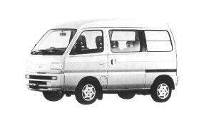 SUZUKI EVERY 1992 г.