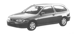 NISSAN LUCINO S-RV 1995 г.