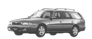 MAZDA CAPELLA WAGON 1995 г.