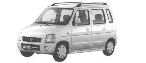 SUZUKI WAGON R 1998 г.