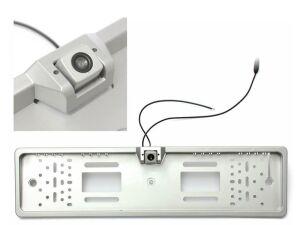 Номерная рамка с камерой заднего вида