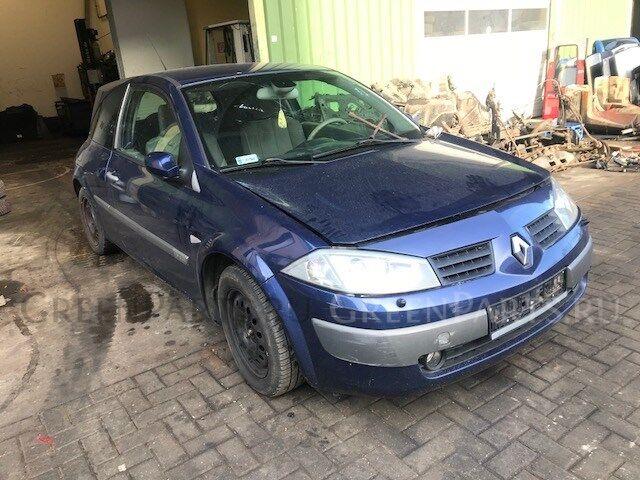 Генератор на Renault Megane