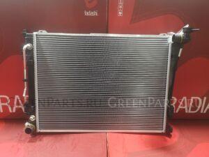 Радиатор двигателя на Hyundai Optima TF G4KE