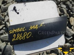 Накладка на бампер на Renault Symbol